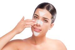 Strisce di Skincare Immagine Stock Libera da Diritti