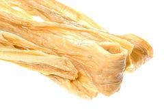 Strisce secche della cagliata della soia Fotografia Stock Libera da Diritti