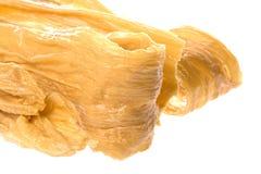 Strisce secche della cagliata della soia Fotografia Stock