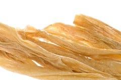 Strisce secche della cagliata della soia Immagini Stock