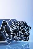 Strisce sezionali di alluminio Fotografia Stock Libera da Diritti