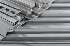 Strisce sezionali di alluminio Fotografie Stock