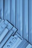 Strisce sezionali di alluminio Fotografia Stock