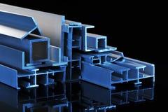 Strisce sezionali di alluminio Immagini Stock