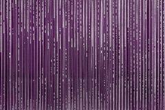 Strisce strutturali astratte di colore viola Fotografie Stock