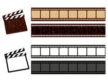 Striscia in bianco della pellicola Fotografia Stock