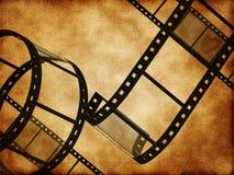 Striscia in bianco della pellicola Immagine Stock