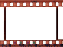 Striscia in bianco della pellicola Immagini Stock