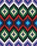 Striscia-cinghia della lana con le progettazioni variopinte Fotografia Stock Libera da Diritti