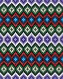 Striscia-cinghia della lana con le progettazioni variopinte Immagine Stock Libera da Diritti
