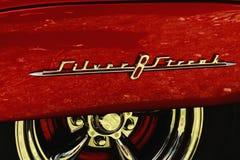 Striscia dell'argento di Pontiac Fotografia Stock Libera da Diritti
