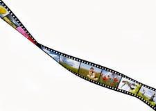 Striscia della pellicola Fotografie Stock