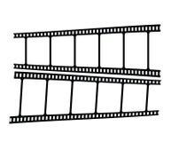 Striscia di film Immagini Stock
