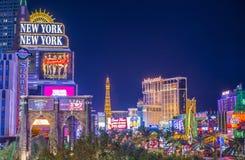 Striscia di Las Vegas Immagini Stock