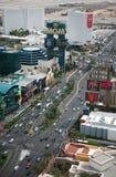 Striscia di Las Vegas al giorno Fotografie Stock
