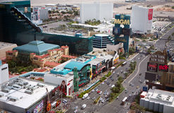 Striscia di Las Vegas al giorno Immagine Stock Libera da Diritti