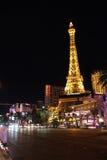 Striscia di Las Vegas entro Night Fotografie Stock
