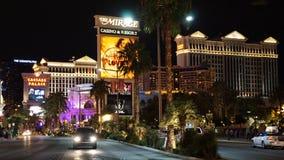 Striscia di Las Vegas nel Nevada immagini stock libere da diritti