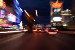 Striscia di Vegas Fotografie Stock Libere da Diritti