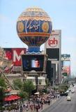 Striscia famosa di Las Vegas Immagine Stock Libera da Diritti