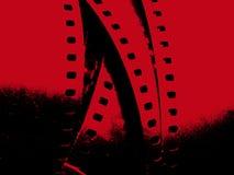 Striscia Grungy della pellicola Fotografia Stock Libera da Diritti