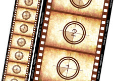 Striscia storica della pellicola Fotografie Stock