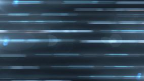 Striscie palide blu Fondo astratto di moto Linee e particelle di moto illustrazione vettoriale
