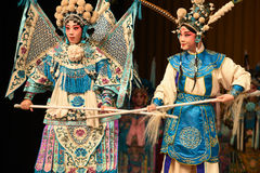 """Striving to be the vanguard- Beijing Opera"""" Women Generals of Yang Family"""" Royalty Free Stock Photos"""