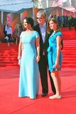 Strizhenovs family at Moscow Film Festival Stock Images