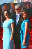 Strizhenovy at Moscow Film Festival Royalty Free Stock Photos