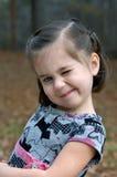 Strizzatine d'occhio del bambino Immagini Stock Libere da Diritti