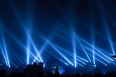strålkastarear Arkivbild