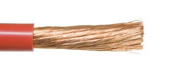 ström cable1 Royaltyfri Fotografi