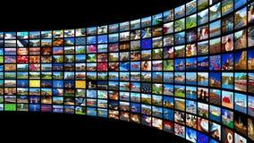 Strömen von Werbekonzeption stock video footage