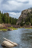 Strömspring till och med den elva mil kanjonen Colorado Royaltyfri Bild