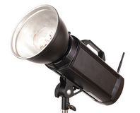 Strobe with white background Royalty Free Stock Image