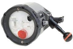 Stroboscopio subacqueo Immagini Stock