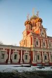 Stroganoff Nativity εκκλησία σε Nizhny Novgorod, Ρωσία στοκ εικόνες