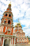 Stroganov Church Nizhny Novgorod Royalty Free Stock Photo