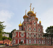 Stroganov Church. Stock Image