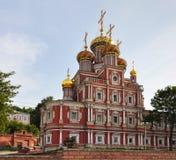 Stroganov Church. Stroganov Church in Nizhny Novgorod Stock Image