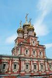 Stroganov Church in Nizhny Novgorod. Church of the Nativity of Our Lady. Russia Royalty Free Stock Images