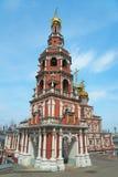Stroganov Church in Nizhny Novgorod. Church of the Nativity of Our Lady. Russia Stock Photo