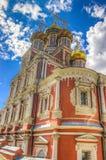 Stroganov Church  Nizhny Novgorod Russia. Landmark Royalty Free Stock Images