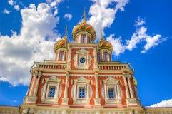 Stroganov Church  Nizhny Novgorod Russia Stock Photo