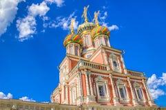 Stroganov Church  Nizhny Novgorod Russia Royalty Free Stock Photo