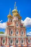 Stroganov-Kirche Nischni Nowgorod Russland Lizenzfreie Stockfotografie