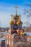 Stroganov kościół w Nizhny Novgorod Zdjęcie Royalty Free