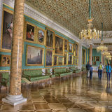Stroganov Palace interiors. Palace was built to Rastrelli's designs in 1753-1754. Now - branch of the Russian Museum Stock Photography