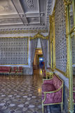 Stroganov Palace interiors. Palace was built to Rastrelli's designs in 1753-1754. Now - branch of the Russian Museum Stock Photos